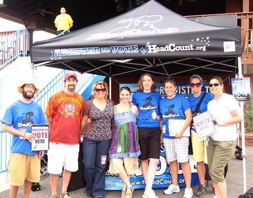 HeadCount team at DMB!