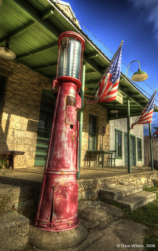 Old Filling Station, Driftwood, Texas