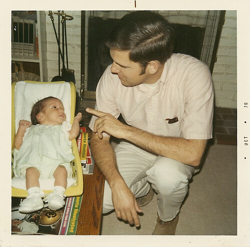 me and my dad, oct. 1970