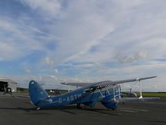 De Havilland Rapide (54 North) Tags: rapide sheffieldairport biplanesheffieldairport