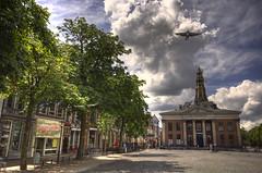 My city (Danil) Tags: city cloud holland netherlands dutch square nikon pigeon daniel nederland groningen plein hdr stad vismarkt duif korenbeurs akerk supershot abigfave infinestyle diamondclassphotographer flickrdiamond