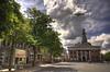 My city (Dani℮l) Tags: city cloud holland netherlands dutch square nikon pigeon daniel nederland groningen plein hdr stad vismarkt duif korenbeurs akerk supershot abigfave infinestyle diamondclassphotographer flickrdiamond
