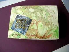 the Book (alfelf) Tags: gold calligraphy calligrafia marbling doratura alfelf