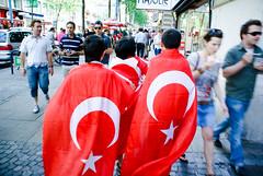 EURO 08 (#1) - Turkey supporters in Vienna