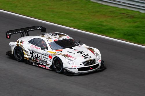 A charging Lexus, Super GT, Sepang, 2008