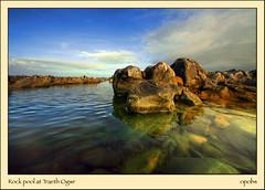Rock pool at Traeth Ogwr (opobs) Tags: summer sky beach pool rock clouds seaside knees wfc valeofglamorgan riverogmore ogmoreestuary glamorganheritagecoast ogmorebeach dapagroupmeritaward michaelstokes opobs traethogwr welshflickrcymruwide anglewet