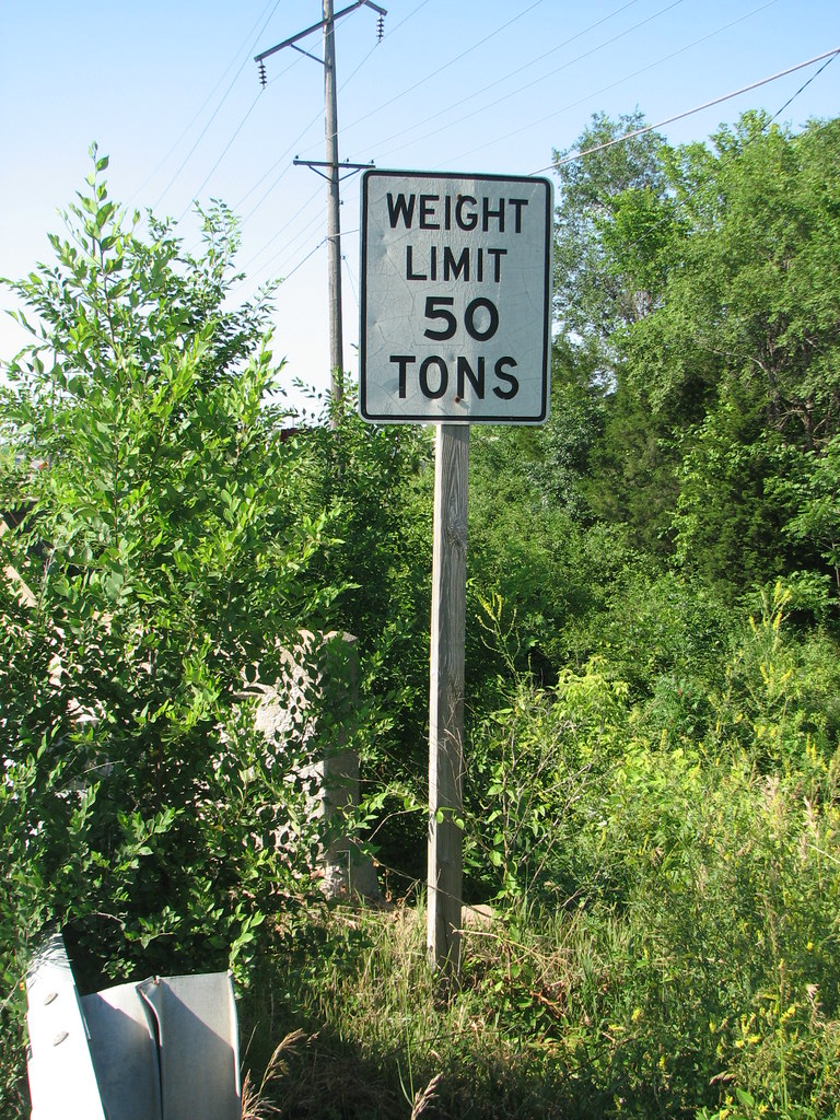 Weight Limit 50 TONS