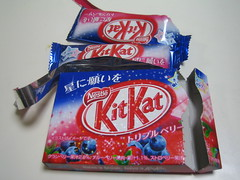 KitKat Triple Berry