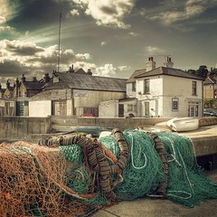 Nets and dinghies at Old Leigh (louisahennessysuou) Tags: boats jetty quay wharf nets leigh essex southend oldleigh dinghies justimagine flickrbestpics
