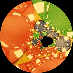 Circle Inversion variation (fdecomite) Tags: circle geometry gimp math reality inversion coxeter tangency mathmap