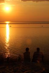 Sunset at the Dune du Pyla