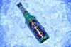 in hot summer you need a drink!! (aZ-Saudi) Tags: blue summer hot cold green ice beer colors drink pomegranate arabic saudi arabia bubble ksa holsten crystalline arabin favouritecapture ِarabs