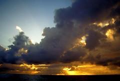 L'Atlantique nord (laurentp_ap) Tags: ocean sky mer portugal painting island do dolphin front saomiguel açores sailingboat faial laurentphilippe agitationpassagère