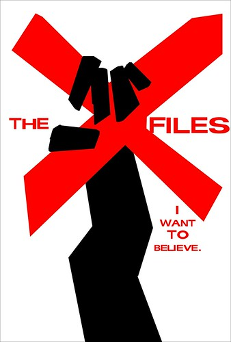 X-Files Saul Bass Movie Poster