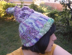 swirly hat