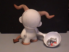 child of sketch (cookin) (mikaplexus) Tags: bunnies me animals myself toy toys michael sketch child head vinyl kidrobot mika limited kozik hahaha theman mds fryingpan demons labbits hooves yourfriend plexus munny michaelstewart zipperpulls ireallylike munnyzipperpulls superminis minimunny metallabbit sketchmunny childofsketch mikaplexus michaelduanestewart mestuffs