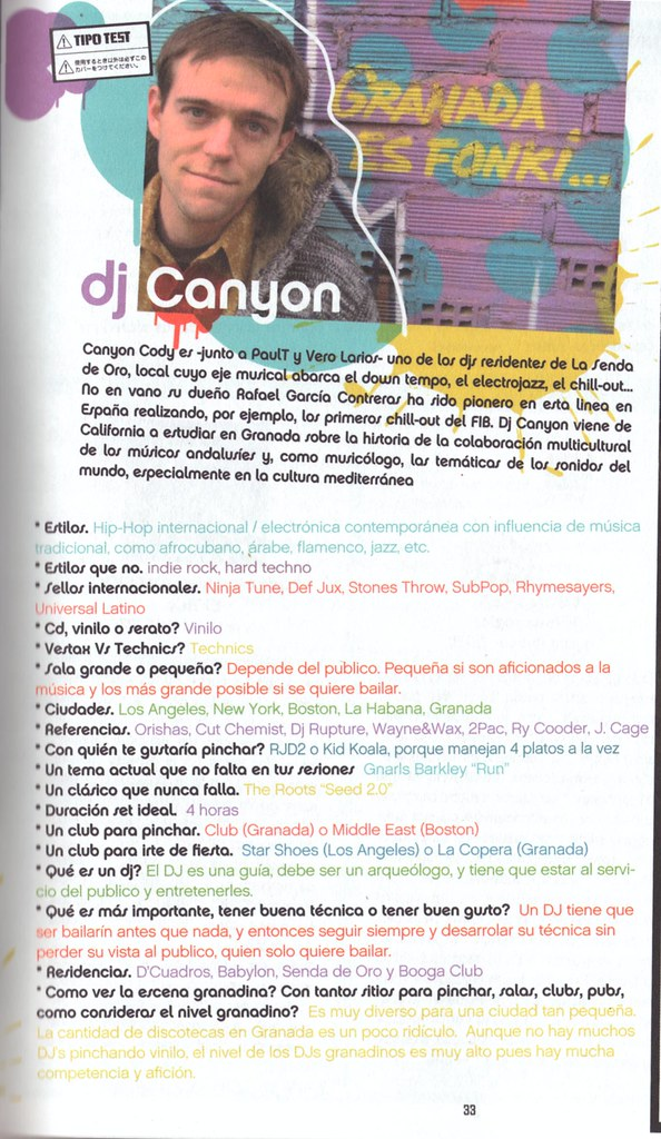 Dj Canyon (Spanish Press)