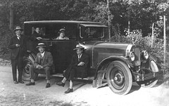 1920s Holland, vintage car with relations.... not gangsters, honestly! (emmdee) Tags: 1920s holland vintagecar