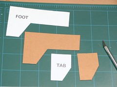 Foot and Tab