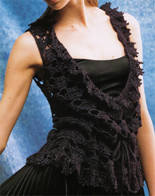 Long Lacy Vest Pattern Photo