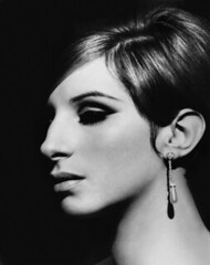 Barbra Streisand in Funny Girl (djabonillojr.2008) Tags: portrait people musician music beauty 1 glamour women profile performingarts jewelry actress jewish americans prominentpersons singers shorthair celebrities whites earrings females performer adults popmusic stylish elegance headandshoulders youngadults barbrastreisand youngadultwoman
