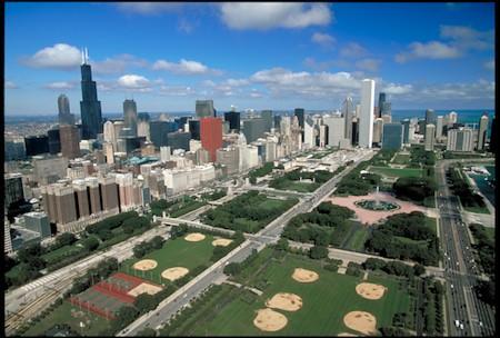 Grant Park Aerial