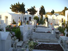 mausoleums and graves
