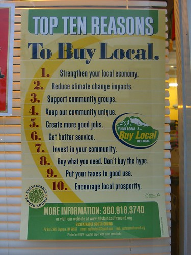 Top Ten Reasons To Buy Local