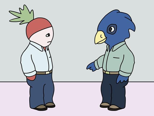Birdy and Radish