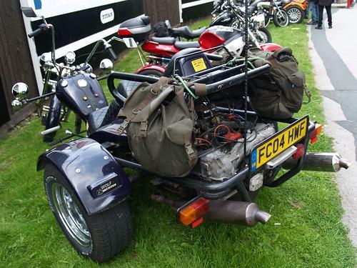 Wolf Chopper Trike Bikes