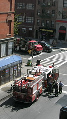 Fire truck with 2nd Avenue by Sean O'Sullivan, on Flickr