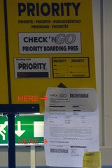 Priority Boarding Pass