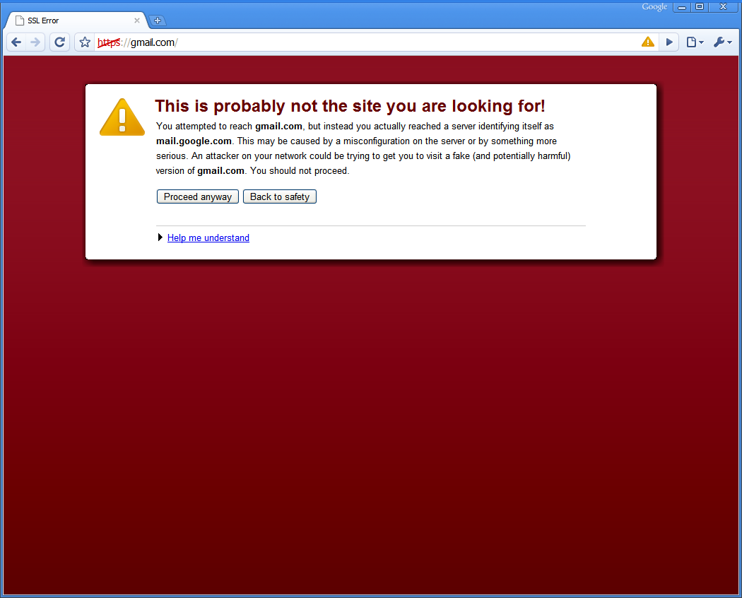 First Google Chrome Fail | Maybe Bug, or an Insect or an Apple Worm, But Not Apple, Google [PIC]