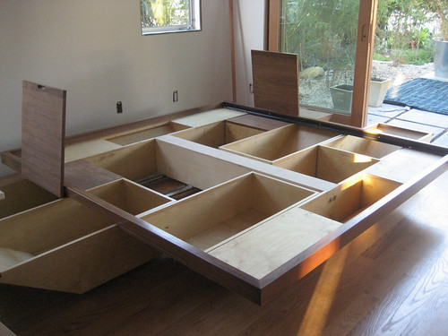 The Hull Bed with concealed storage