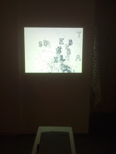 Brian Kim Stefans's digital piece at Contranym