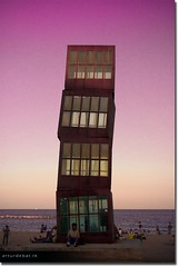 Barceloneta (arturii!) Tags: barcelona city light red sea sky people sculpture costa color art beach water skyline port wow coast mar salad interesting sand europa europe wine superb artistic harbour country capital playa cel catalonia neighborhood escultura adobe barceloneta stunning catalunya bara gent artur aigua catalua vi pais wal gettyimages artista platja ciutat llum lightroom treatment sorra turista turism mediterranian barri catalogne mediterrani rebeccahorn rosat passejant impresive descansant horitz espig canoneos400d wesome amazinga arturii goldenvisions barcelones