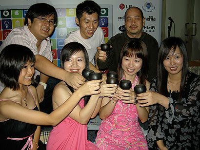 Watch the Vodcast on Singapore Blog Awards 2008 - Alvinology