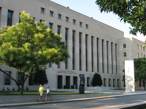 U.S. District Court, D.C. District by Ken Lund.