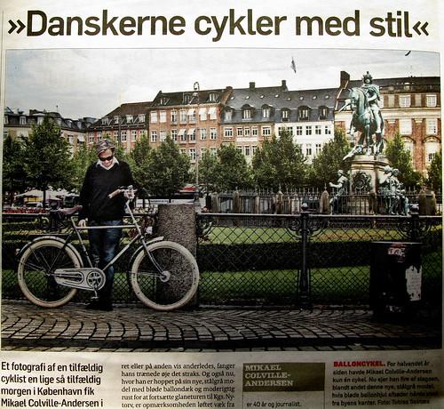 Danskerne cykler med stil