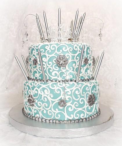 """Mademoiselle"" aka Kristine's 18th Birthday Cake"