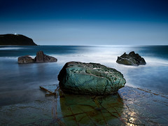 Forrester Rocks At Night (brentbat) Tags: lightpainting forresters auselite vosplusbellesphotos auselitea2008winner