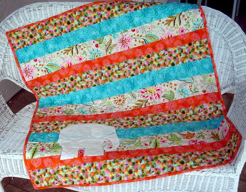 bright quilt front