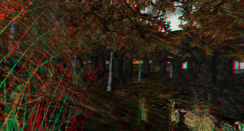 Stereo Viewer for Second Life - Carnival of Doom Forest