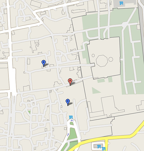 Israel Street Maps in Google