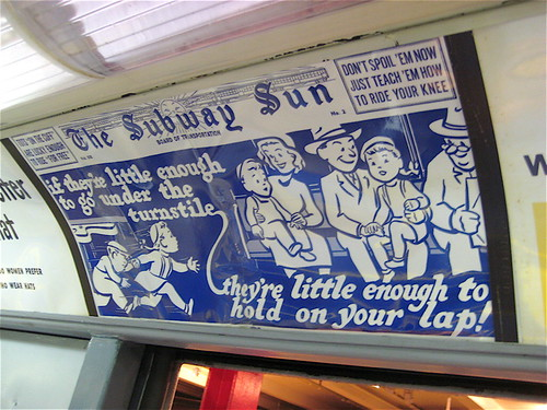 Subway Sun Rules for Children