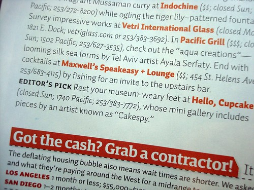 Cakespy Mentioned in Sunset Magazine!