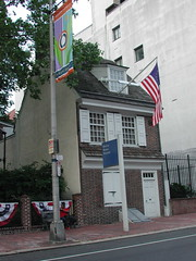 Betsy Ross House Exterior View