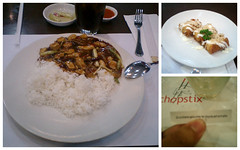Dinner For One @ Chopstix (Chandra Marsono) Tags: food chicken dinner mall cookie fortune pim indah pondok mayonaise cakwe chopstix kungpao