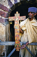 Abbot with Cross bearing Christian images, Ancient African monistary, Lake Tana, Ethiopia (Boonlong1) Tags: africa lake art church island religion jesus christian nile holy monastery sacred ethiopia hornofafrica christianart laketana 5photosaday
