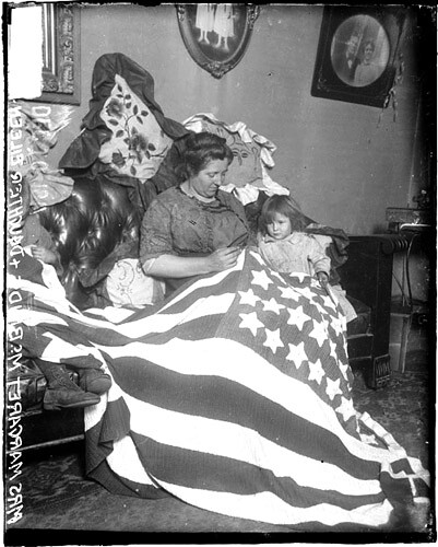 Sewing Heritage: More Stitching Up Old Glory